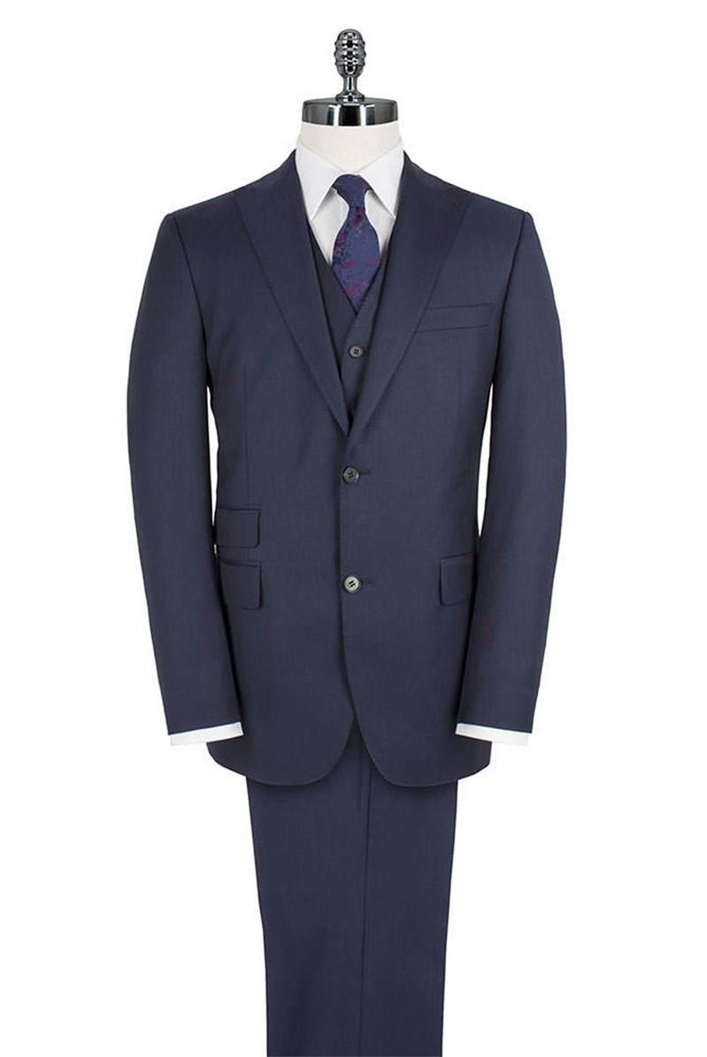Blue Pick And Pick Suit Jacket