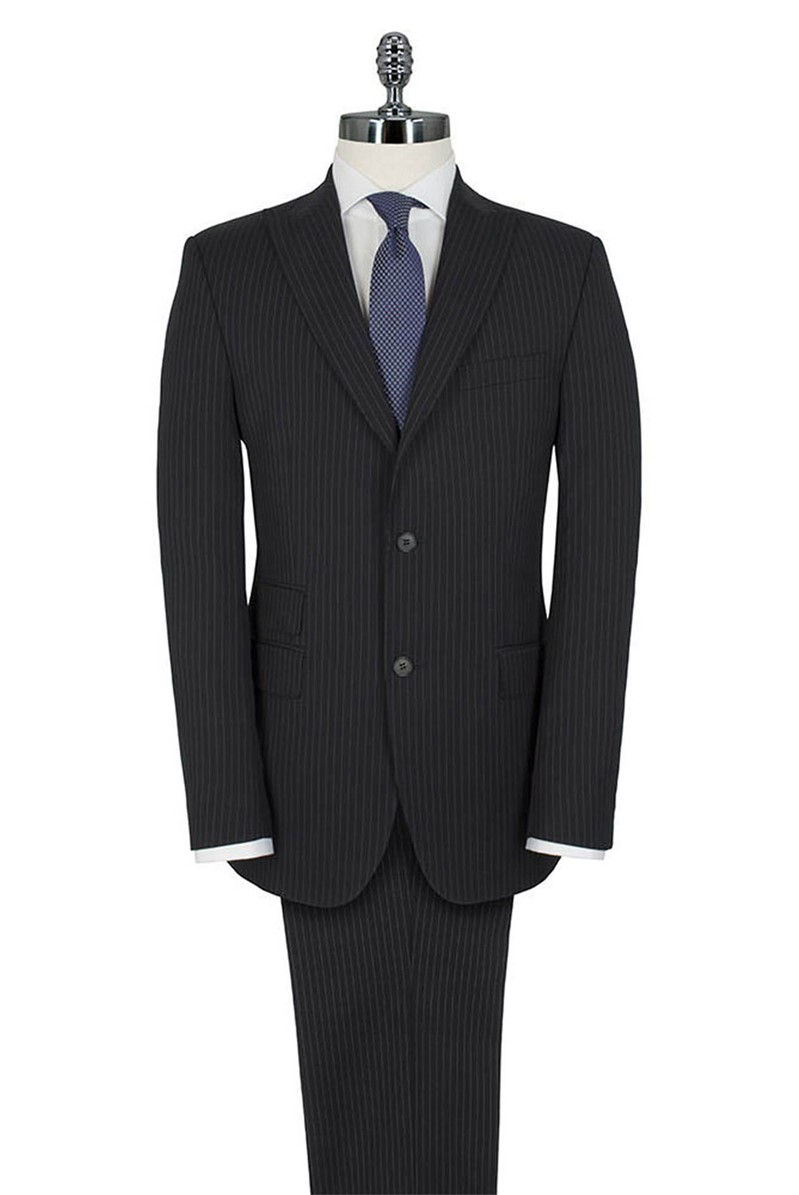 Navy Stripe Regular Fit Suit