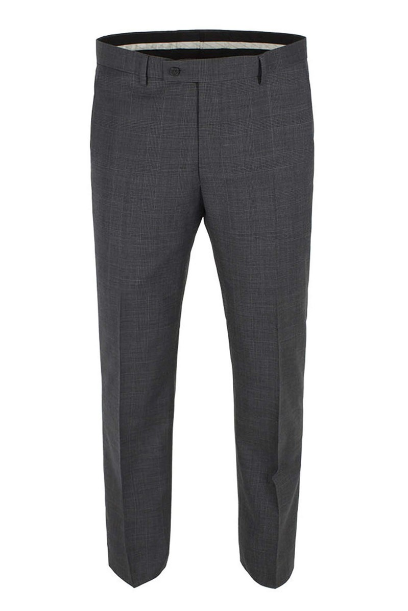 Grey Check Tailored Fit Ivy League Suit Trouser