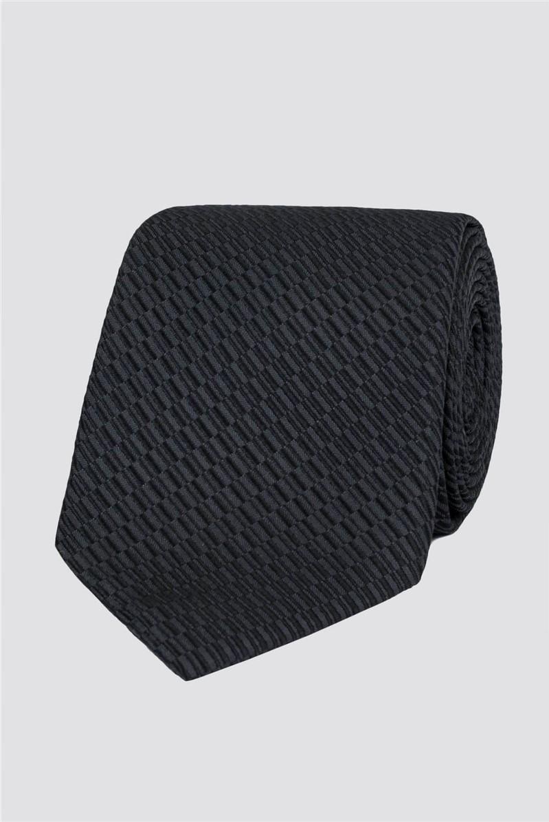 Stvdio Grey Irregular Textured Tie