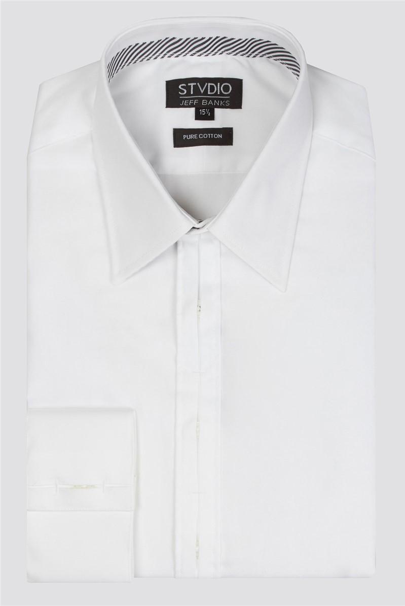 Stvdio White Poplin Shirt