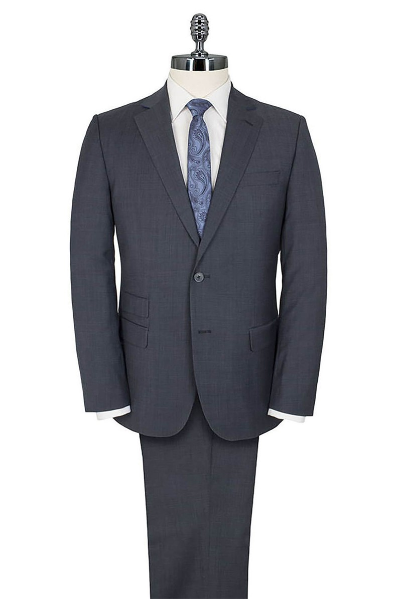 Stvdio Blue Pindot Tailored Fit Suit