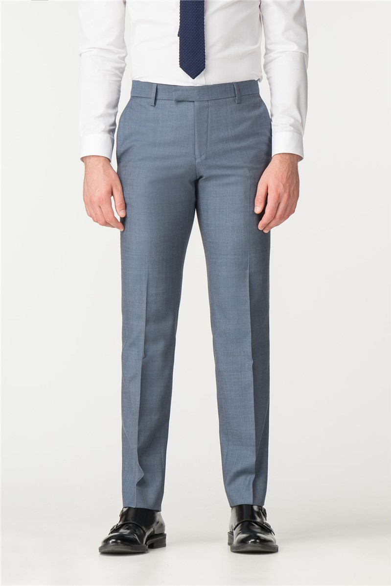 Petrol Pick And Pick Tailored Fit Suit Trouser