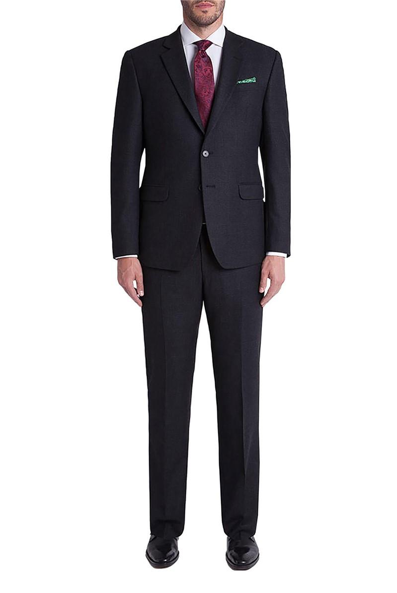Studio Charcoal Mini Check Ivy League Suit