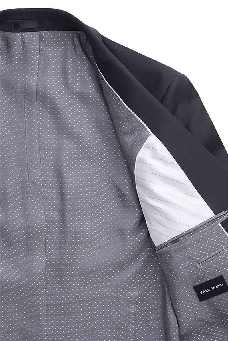 Stvdio Black Plain Ivy League Suit