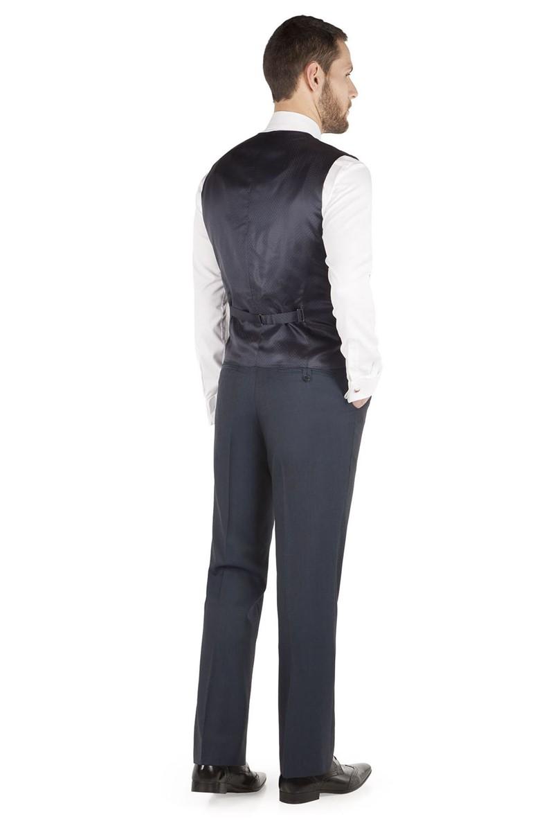 Blue Tonic Regular Fit Waistcoat