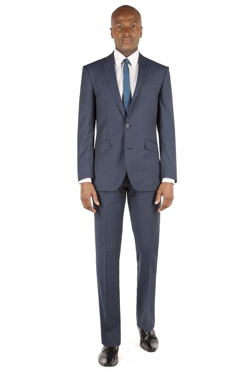 Blue Stripe Kings Fit Suit