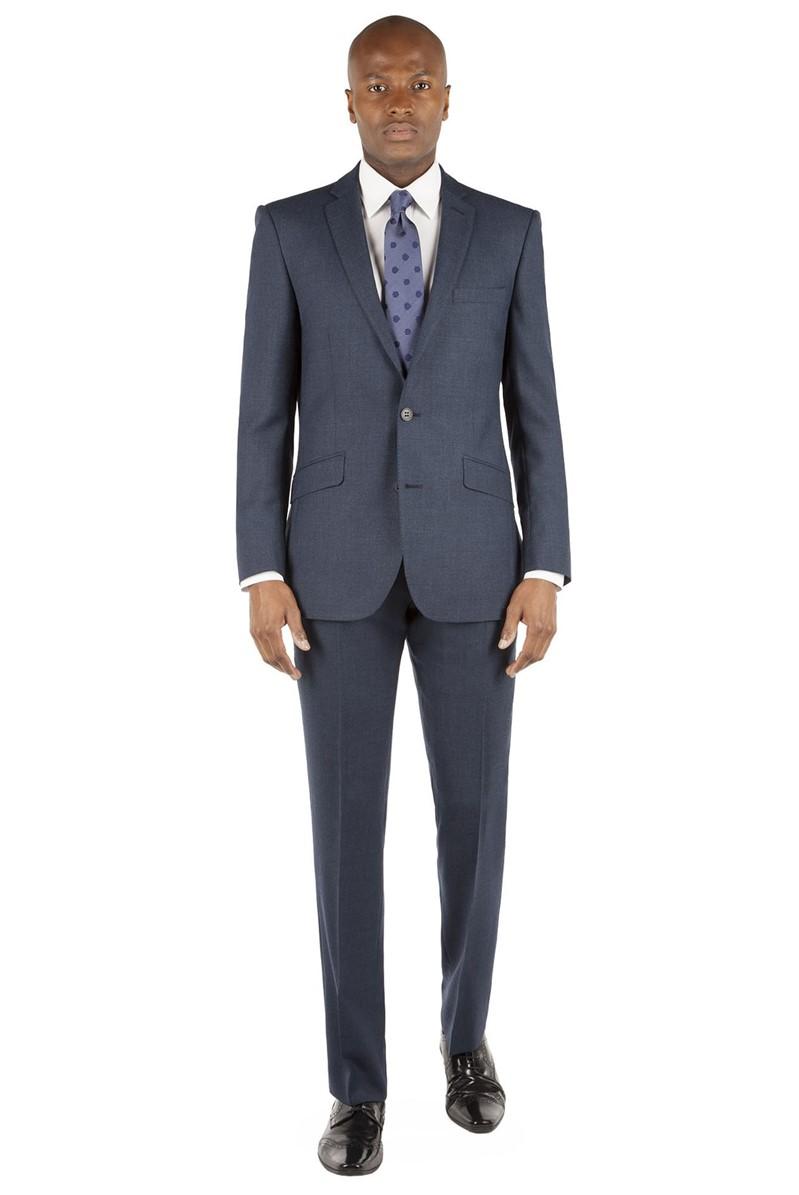 Dark Teal Flannel Kings Fit Suit