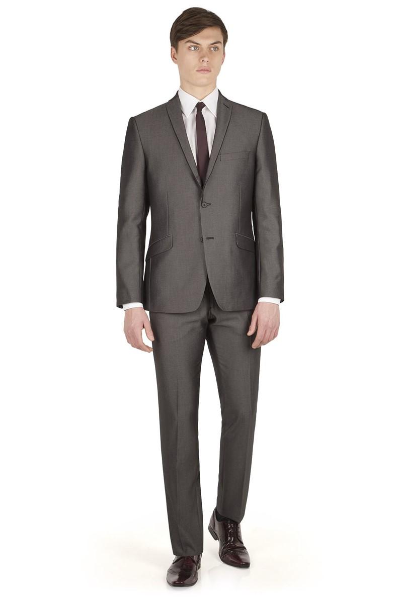 Grey Micro Slim Fit Suit