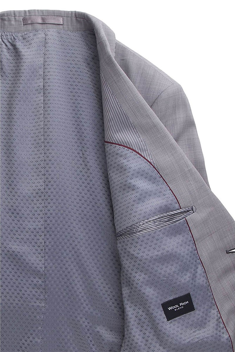 Stvdio Grey Puppytooth Tailored Fit Suit