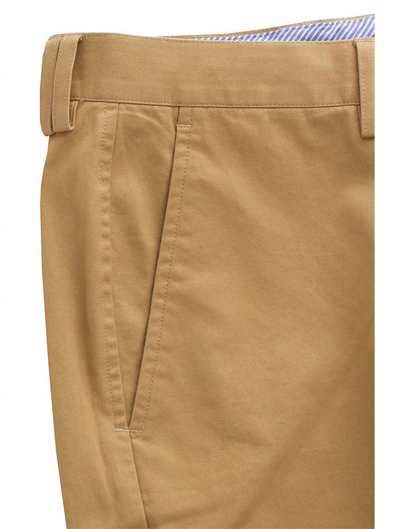 Outlet JEFF BANKS SAND COTTON CHINO TROUSER