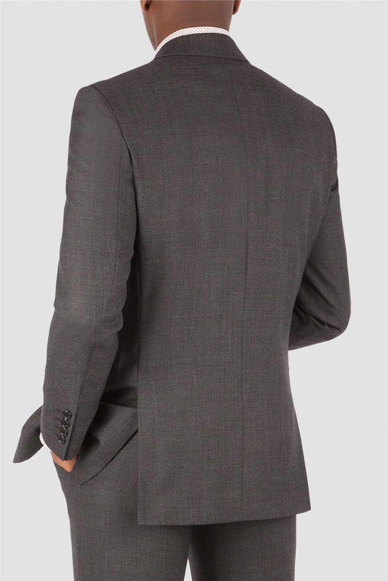 Charcoal Pick and Pick Tailored Suit