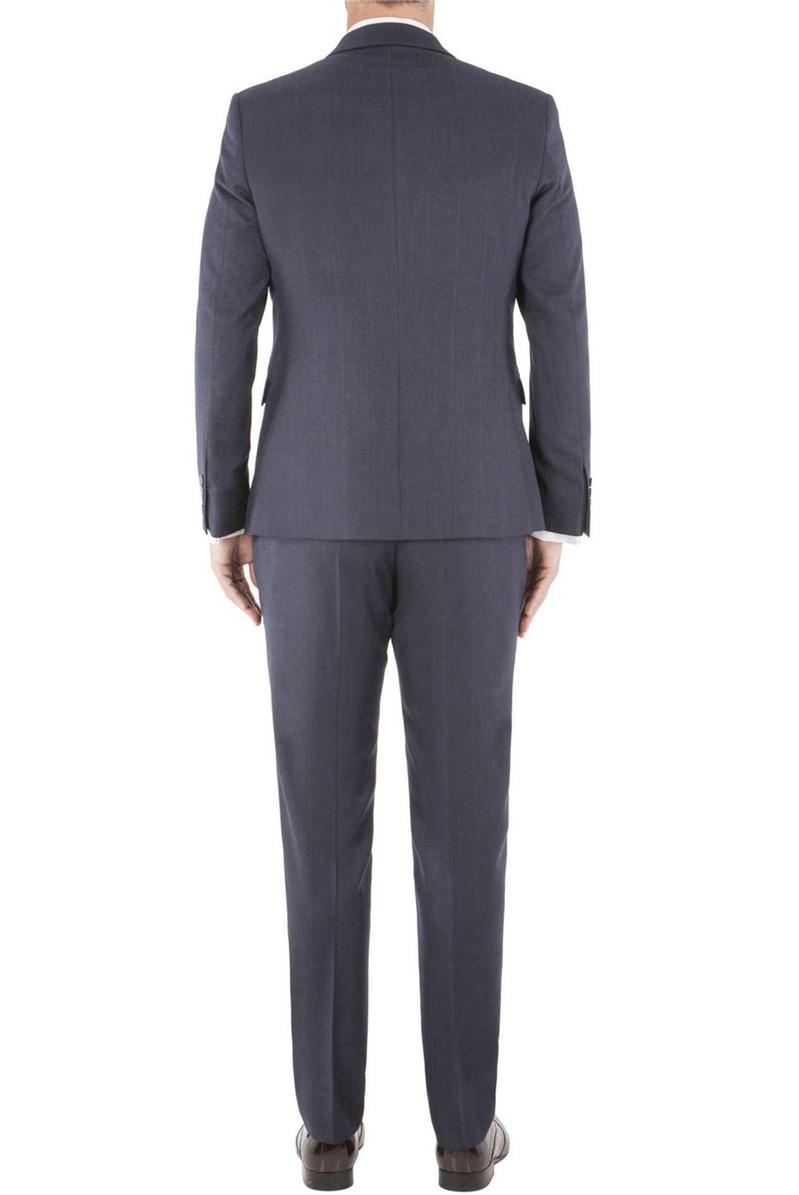 Stvdio Navy Rust Overcheck Ivy League Suit