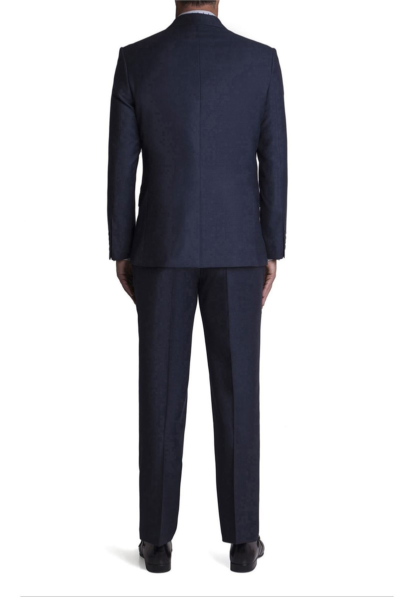 Stvdio Blue Puppytooth Tailored Fit Suit