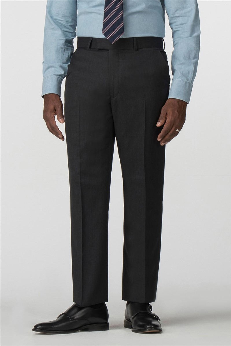 Performance Charcoal Twill Regular Fit Trouser