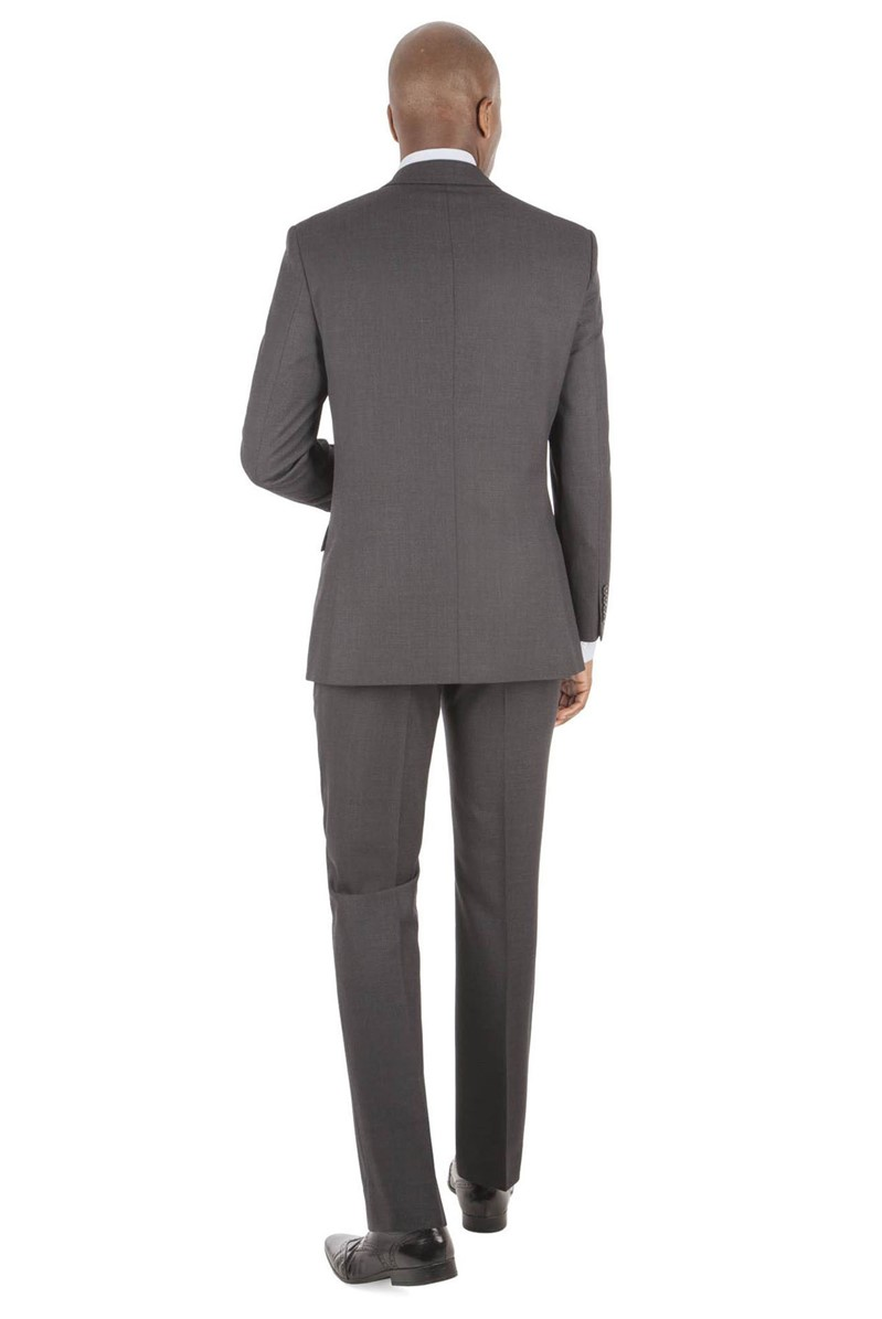 Charcoal Dobby Tailored Fit Suit
