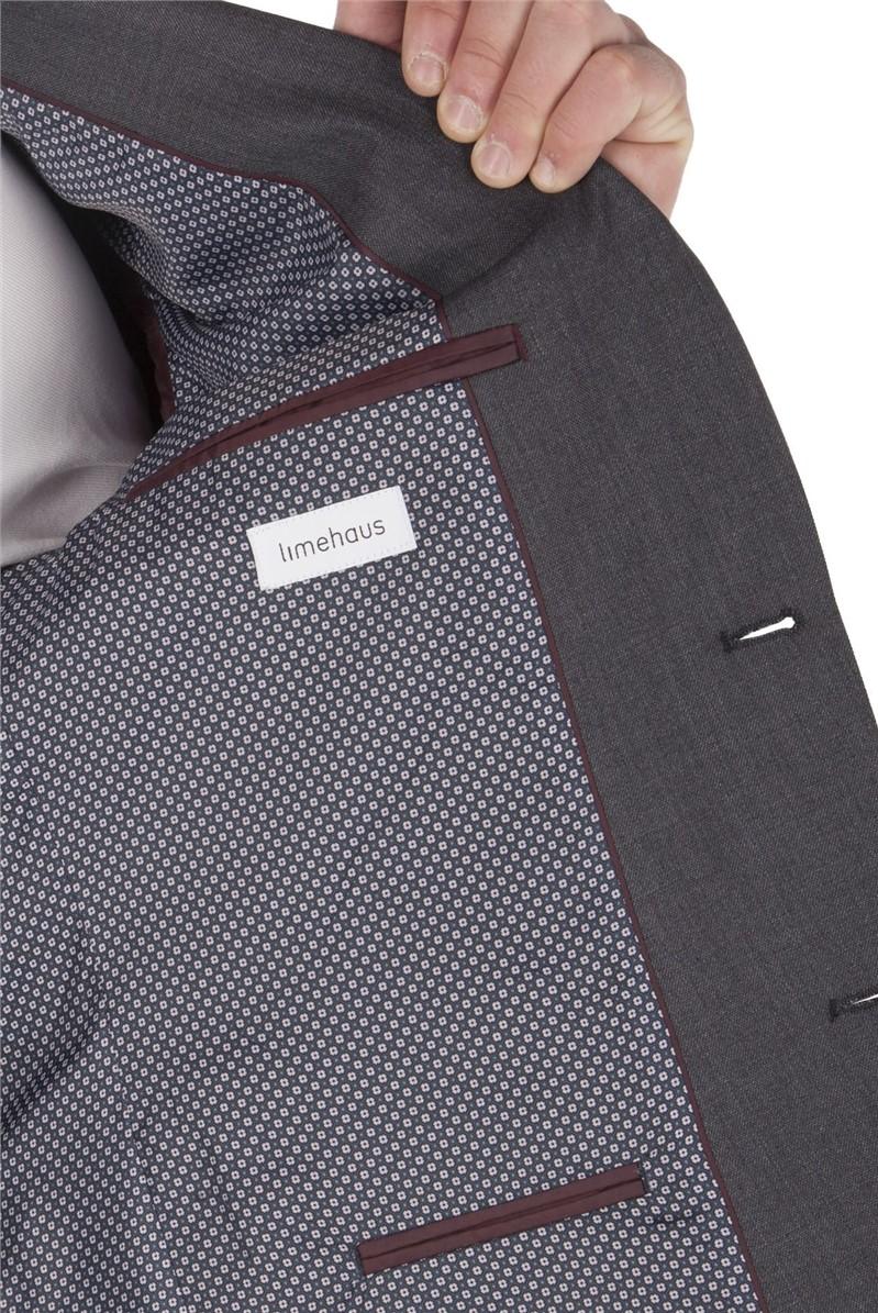 Micro Grey Slim Fit Suit