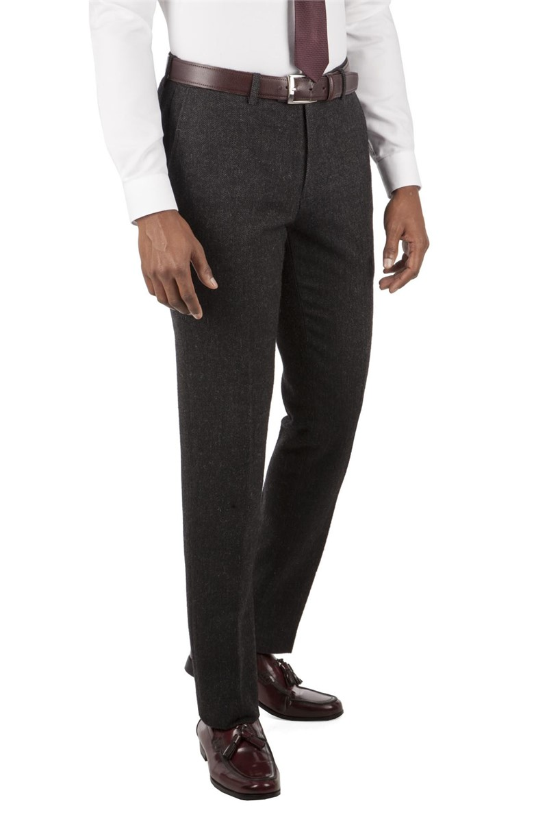 Herringbone Tailored Fit Trouser