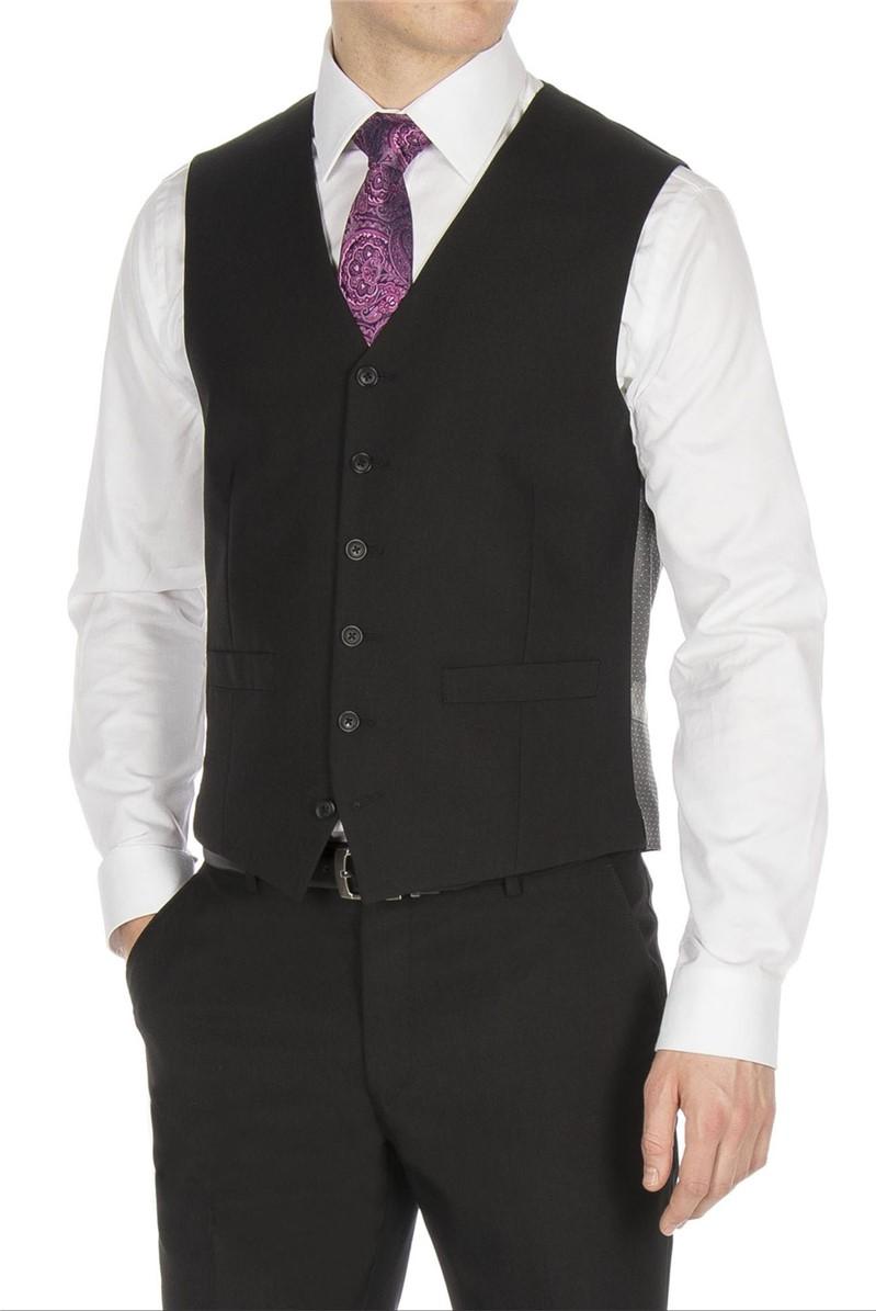 Studio Black Plain Ivy League Waistcoat