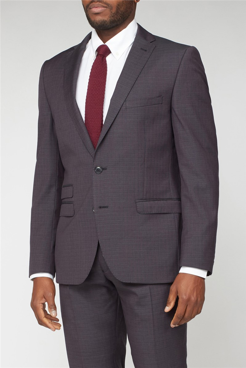 Peacoat Structure Check Suit