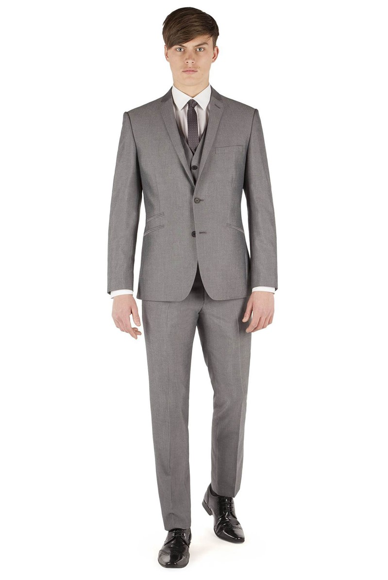 Silver Grey Tonic Slim Fit Suit