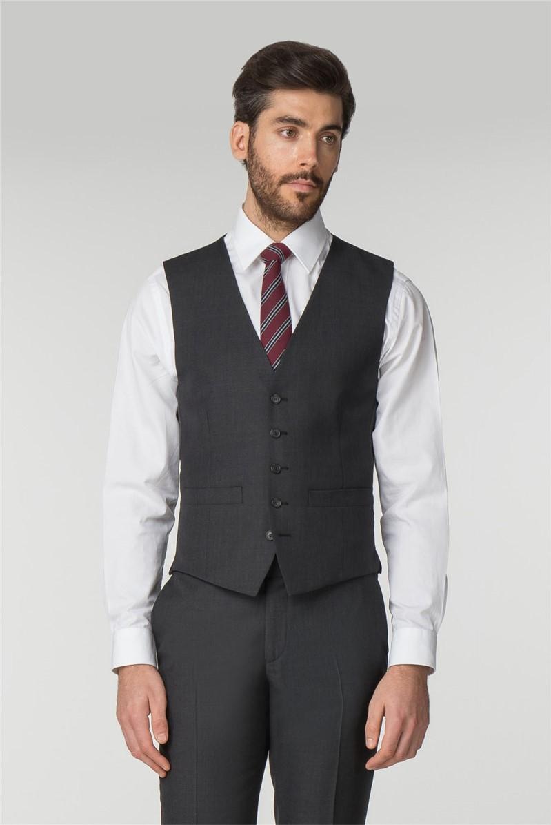 Charcoal Pick & Pick Waistcoat