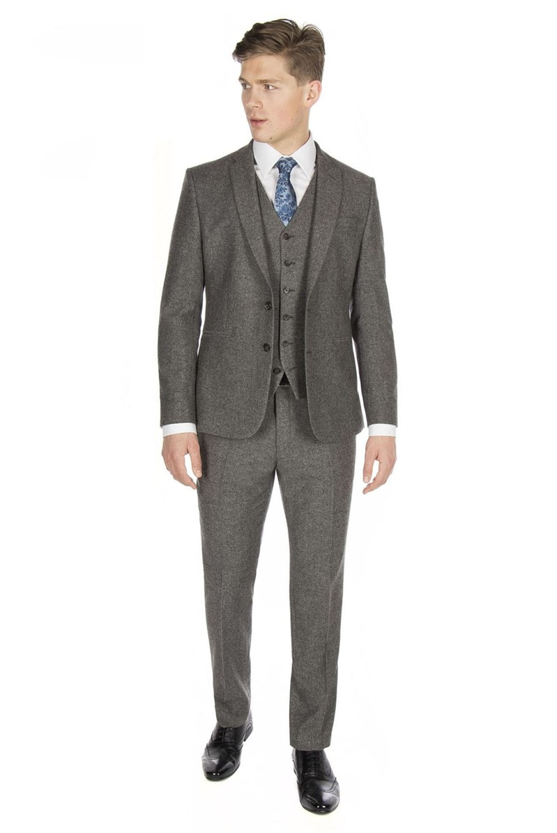 Stvdio Grey Textured Ivy League Suit