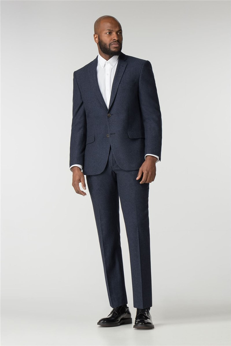 Blue Donegal Tailored Fit Wool Blend Suit