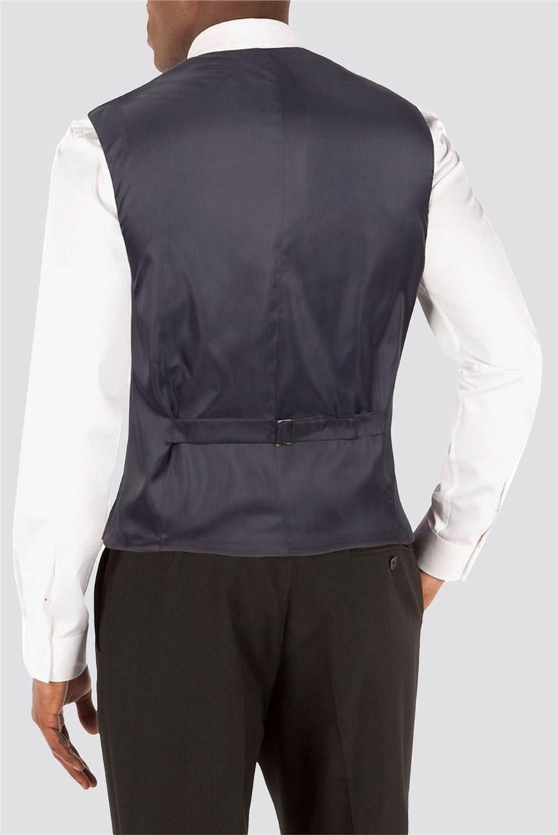 Black Plain Waistcoat