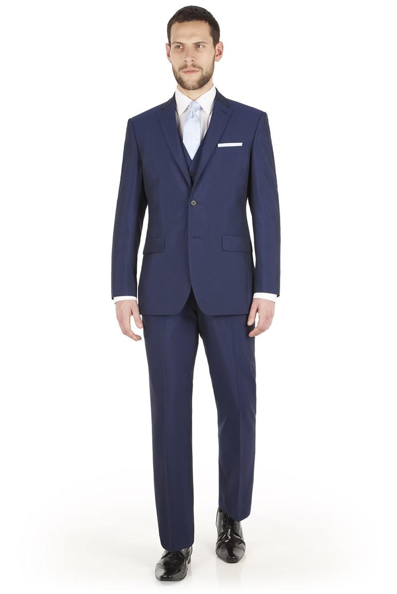 Occasions Blue Regular Fit Suit