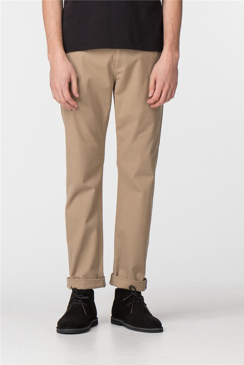 Navy Stone Stretch Chino