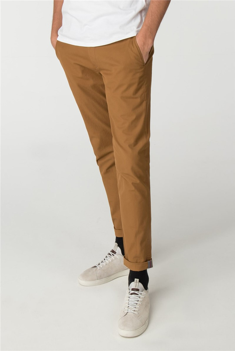 Camel Skinny Stretch Chino