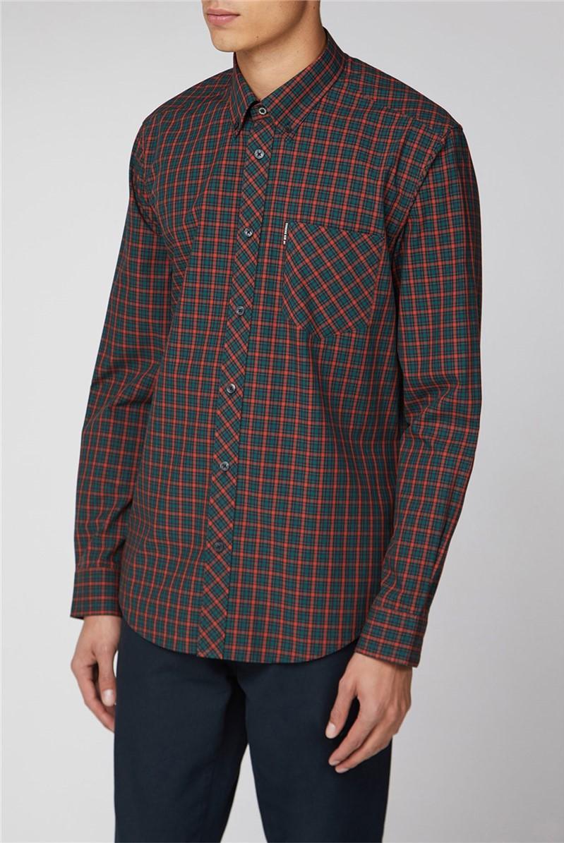Long Sleeve House Check Shirt
