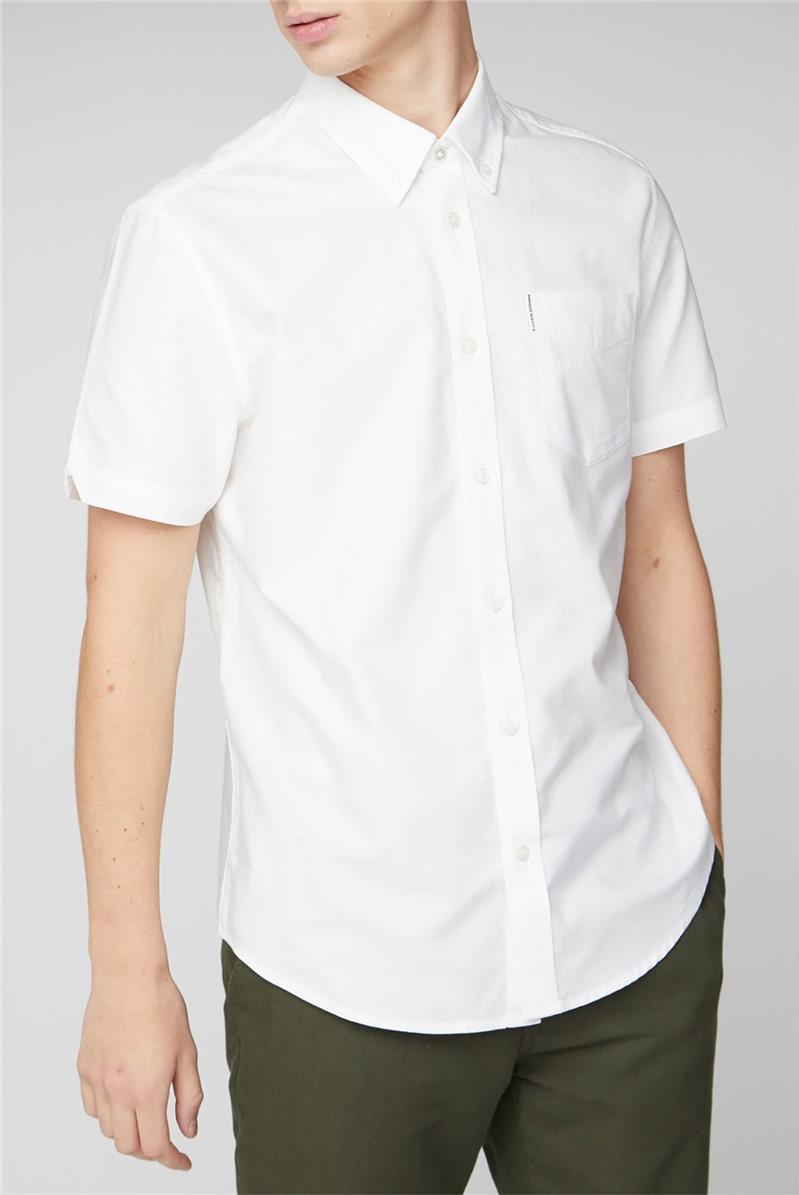 Short Sleeve Plain Oxford Shirt