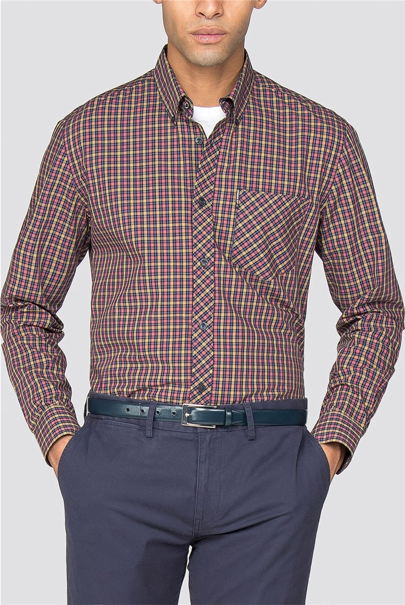 Short Sleeve House Check Shirt