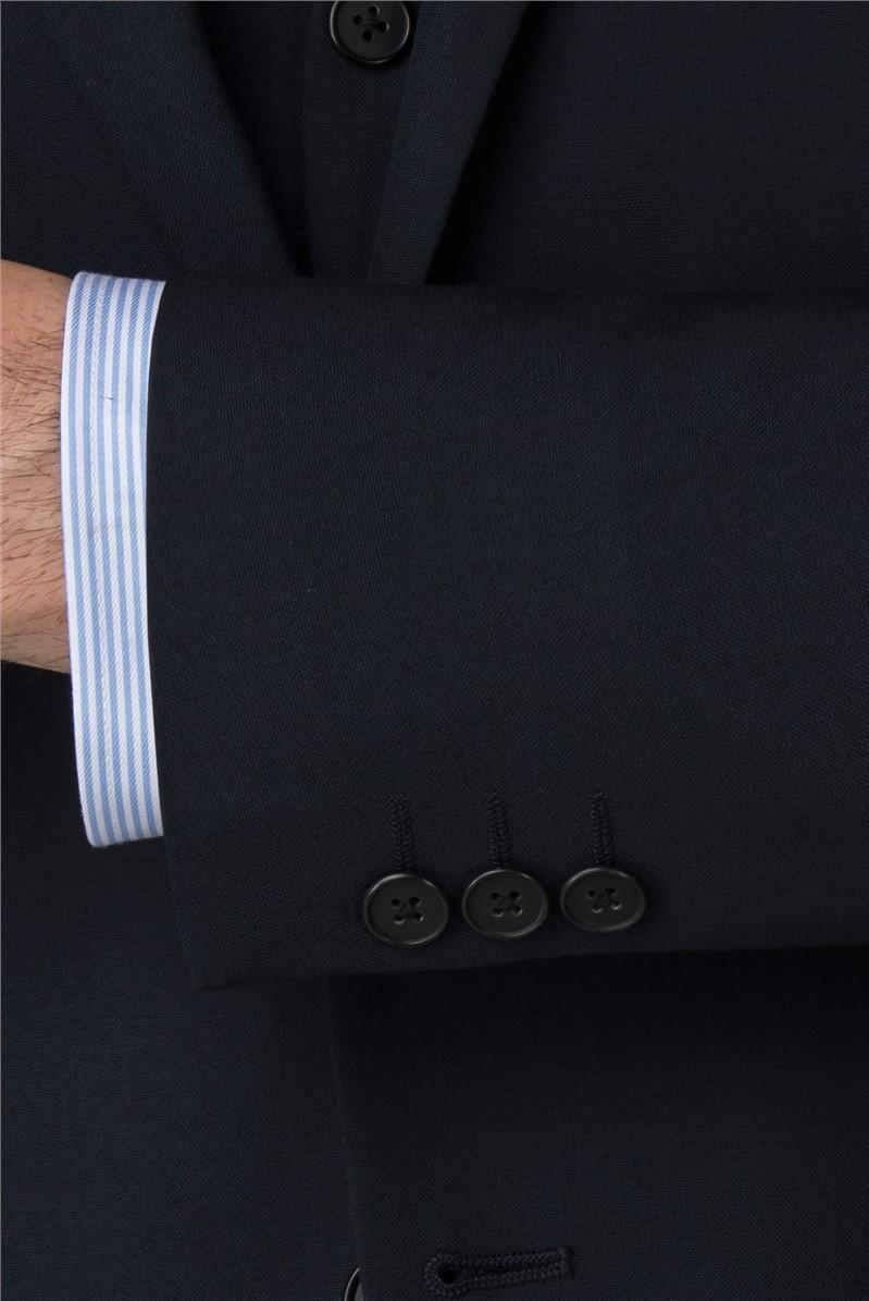Branded Navy Regular Fit Suit