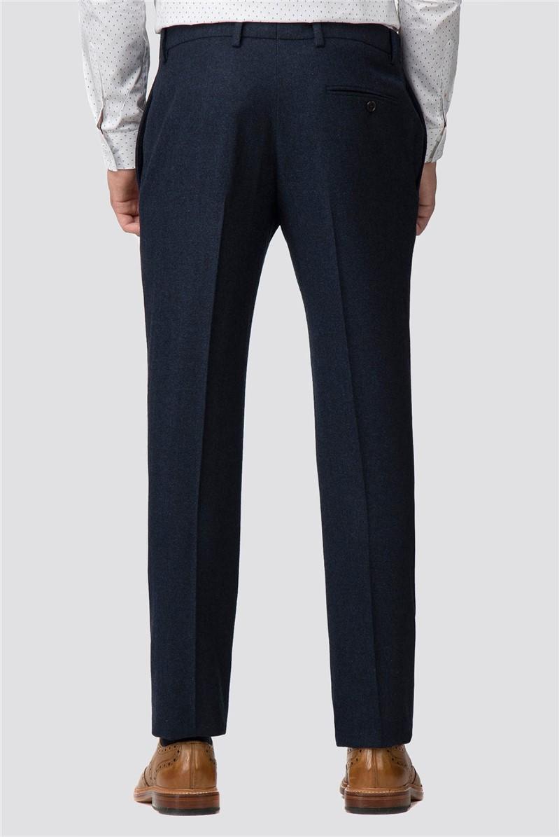 Deep Blue Donegal Slim Trouser