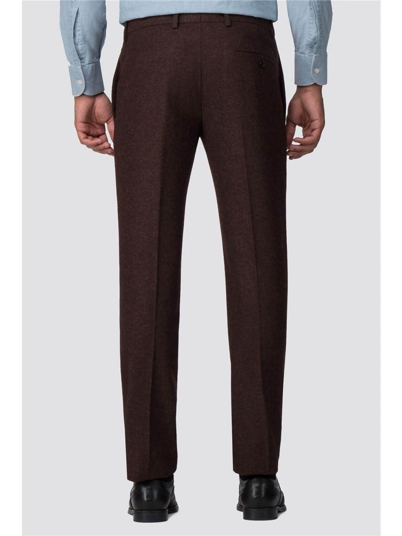 Rust Donegal Slim Fit Trouser