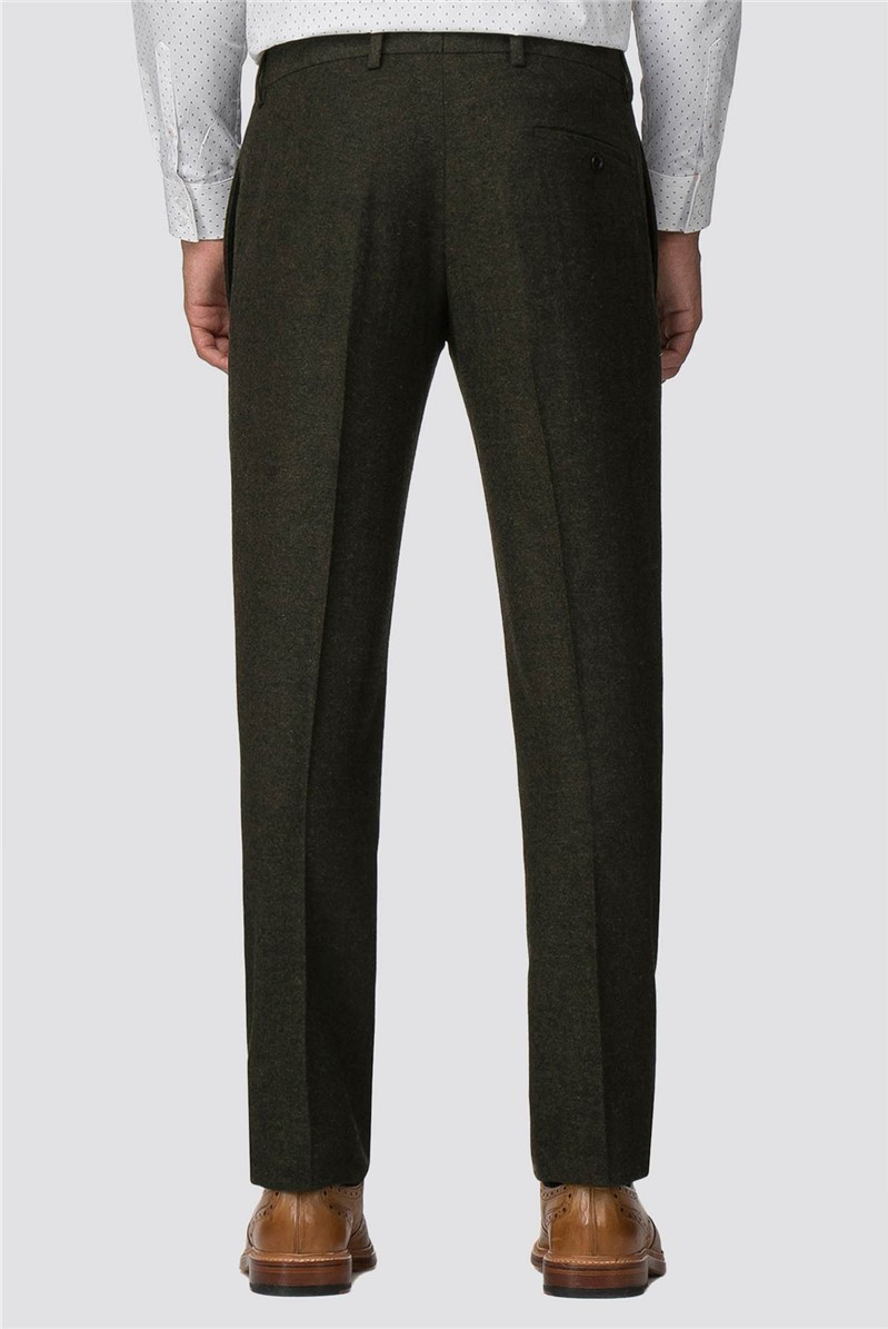 Green Donegal Slim Fit Suit Trouser