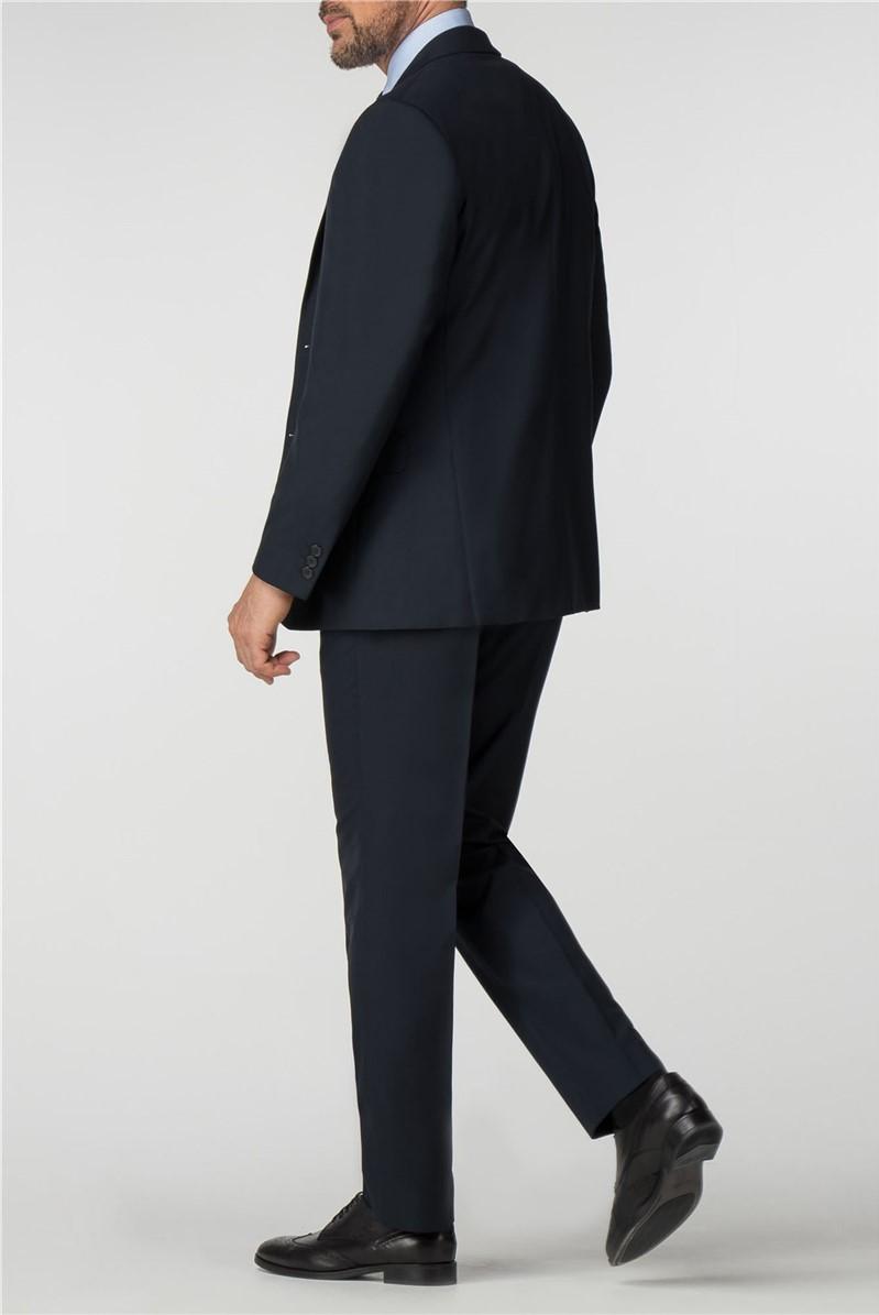 Plain Navy Panama Regular Fit Suit