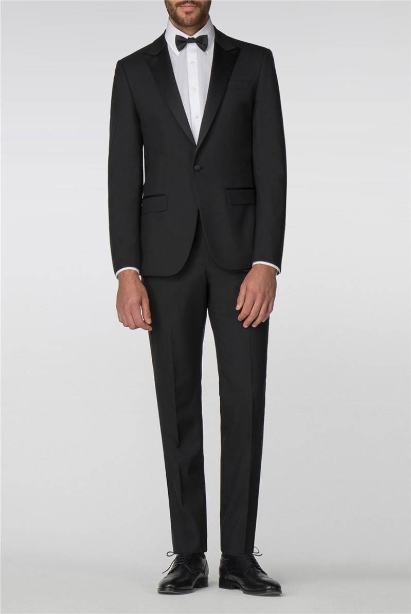 Black Tailored Fit Tuxedo