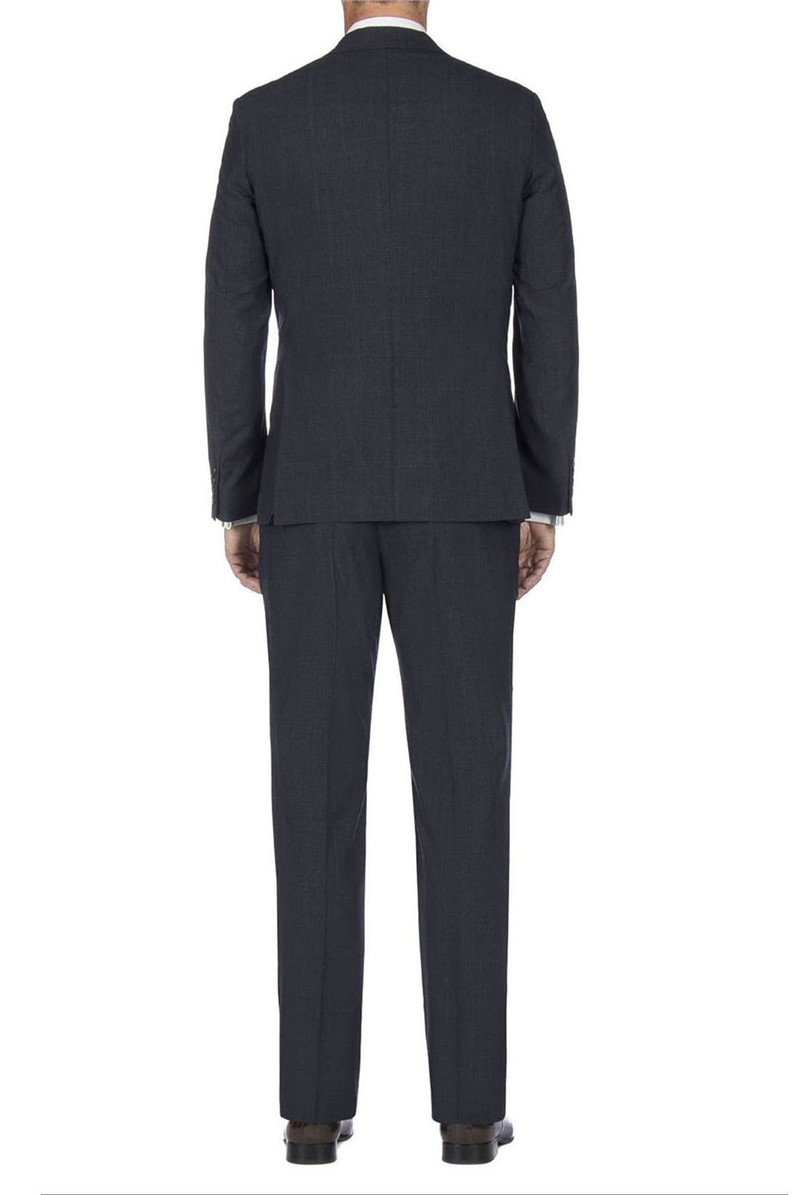 Stvdio Blue Rust Overcheck Tailored Fit Suit