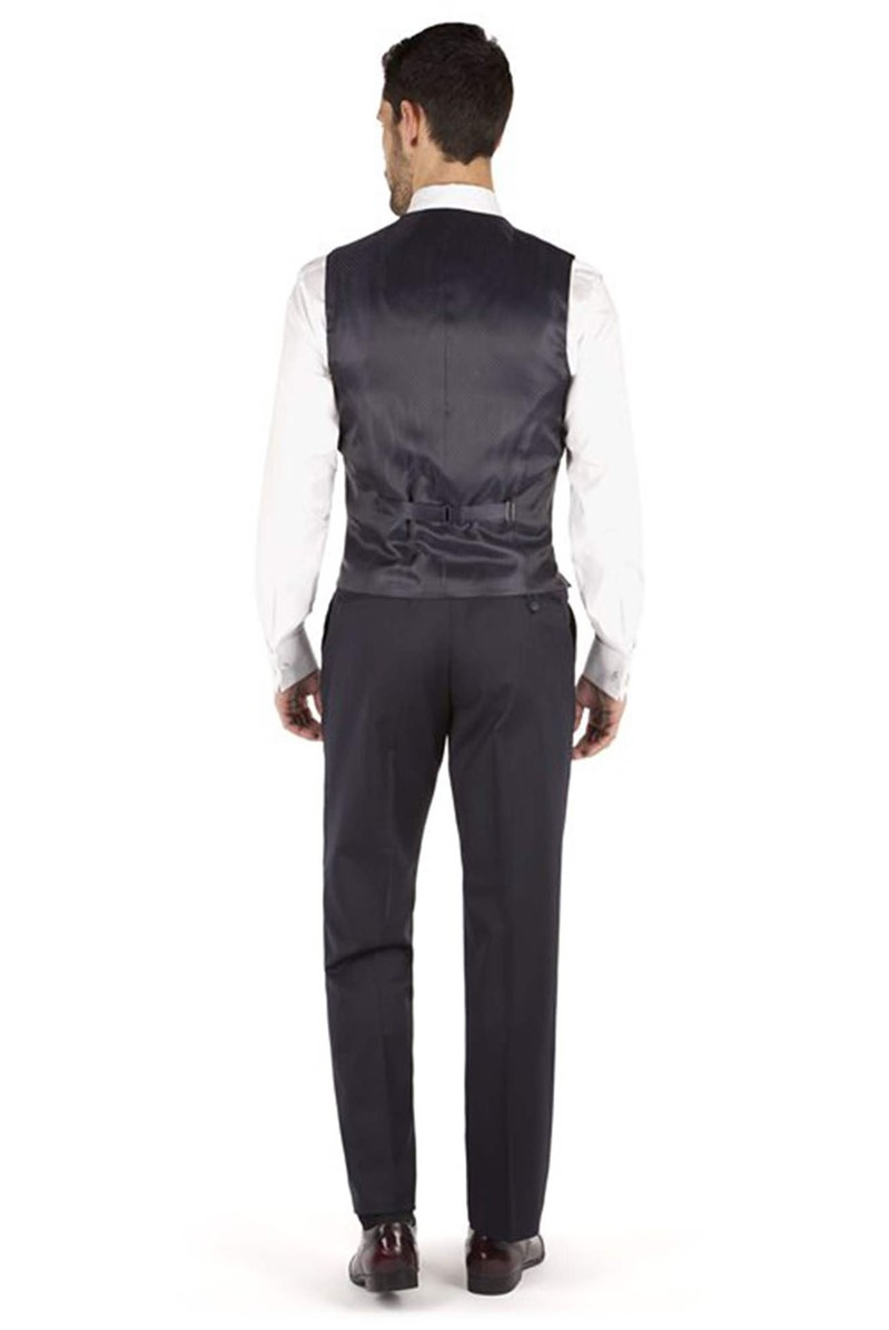 Performance Navy Twill Regular Fit Waistcoat