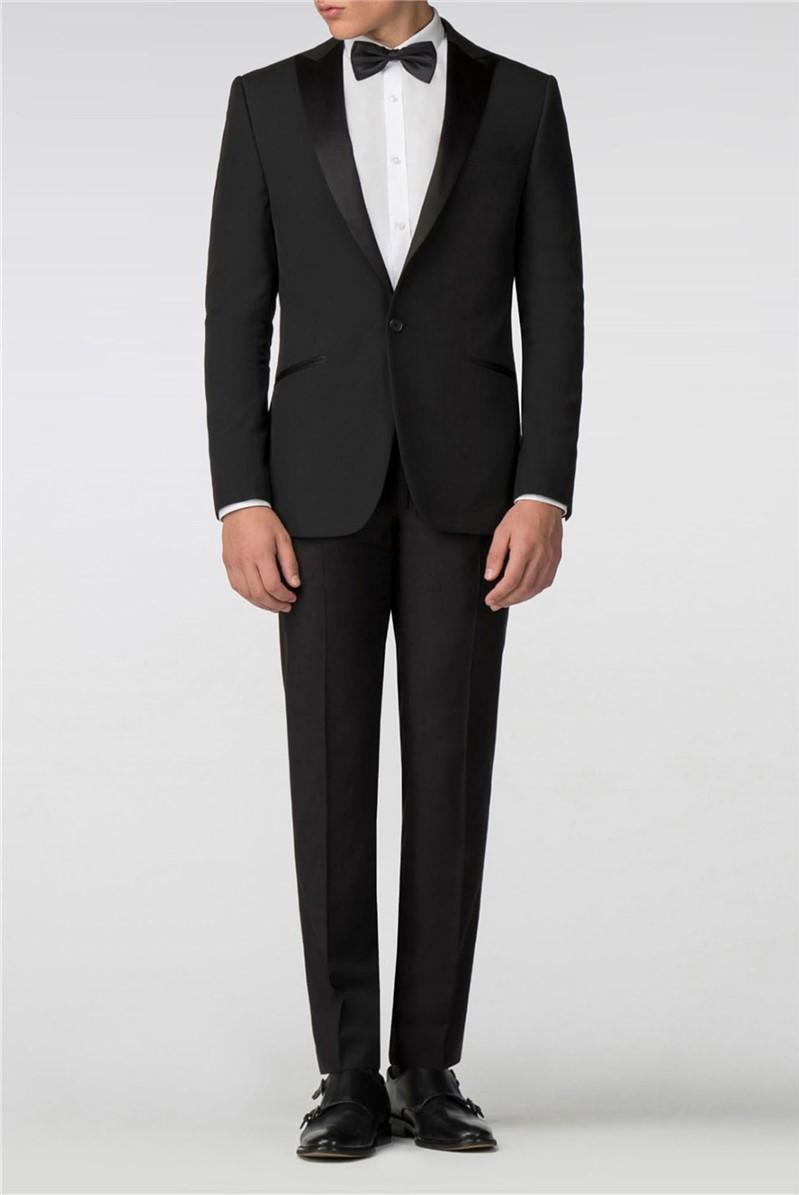 Satin Lapel Slim Fit Tuxedo