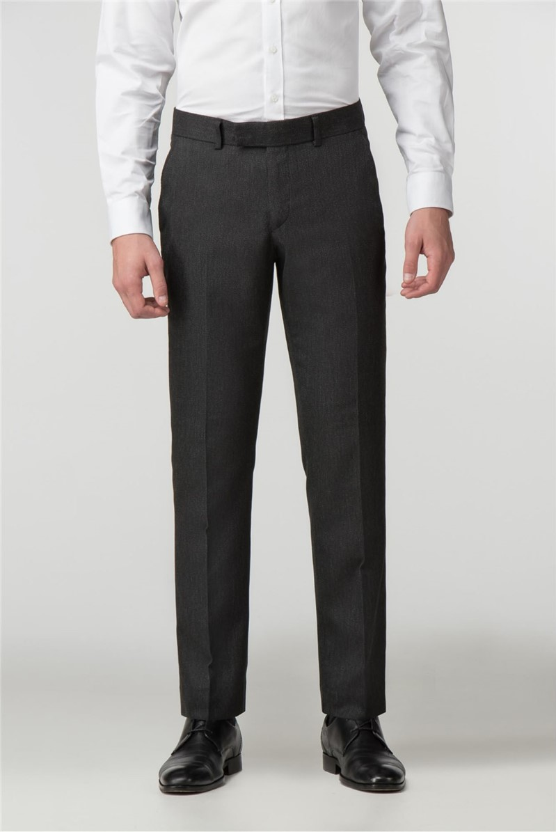 Charcoal Birdseye Tailored Fit Suit