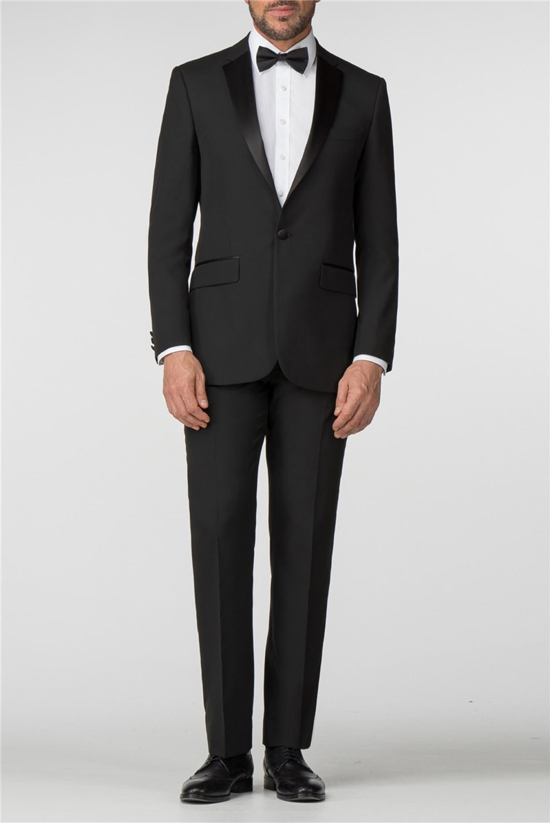 Satin Notch Lapel Regular Fit Tuxedo