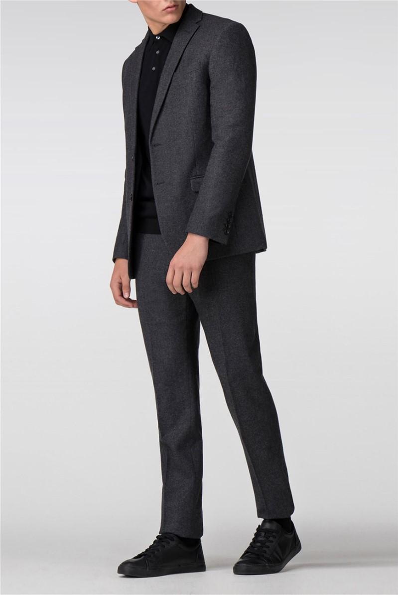 Grey Donegal Tweed Slim Fit Suit