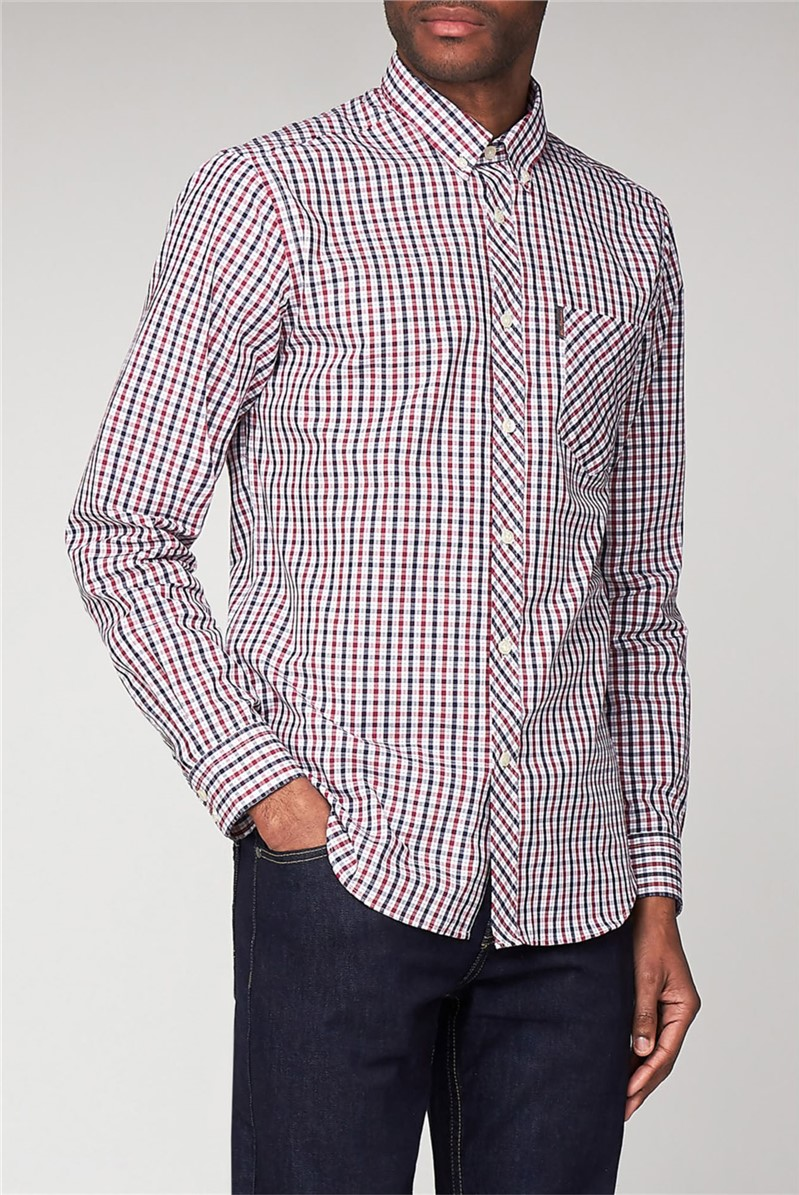 House Checked Long Sleeved Shirt