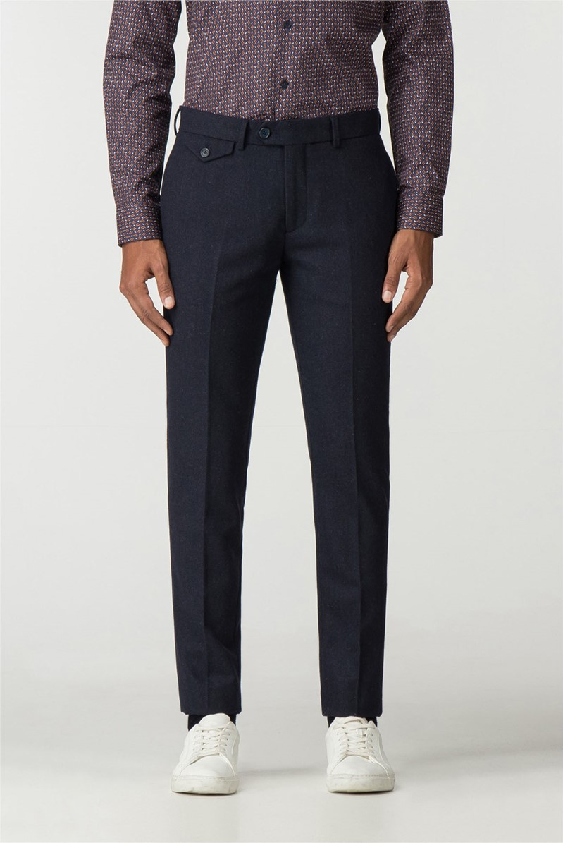 Tapered Wool Trouser