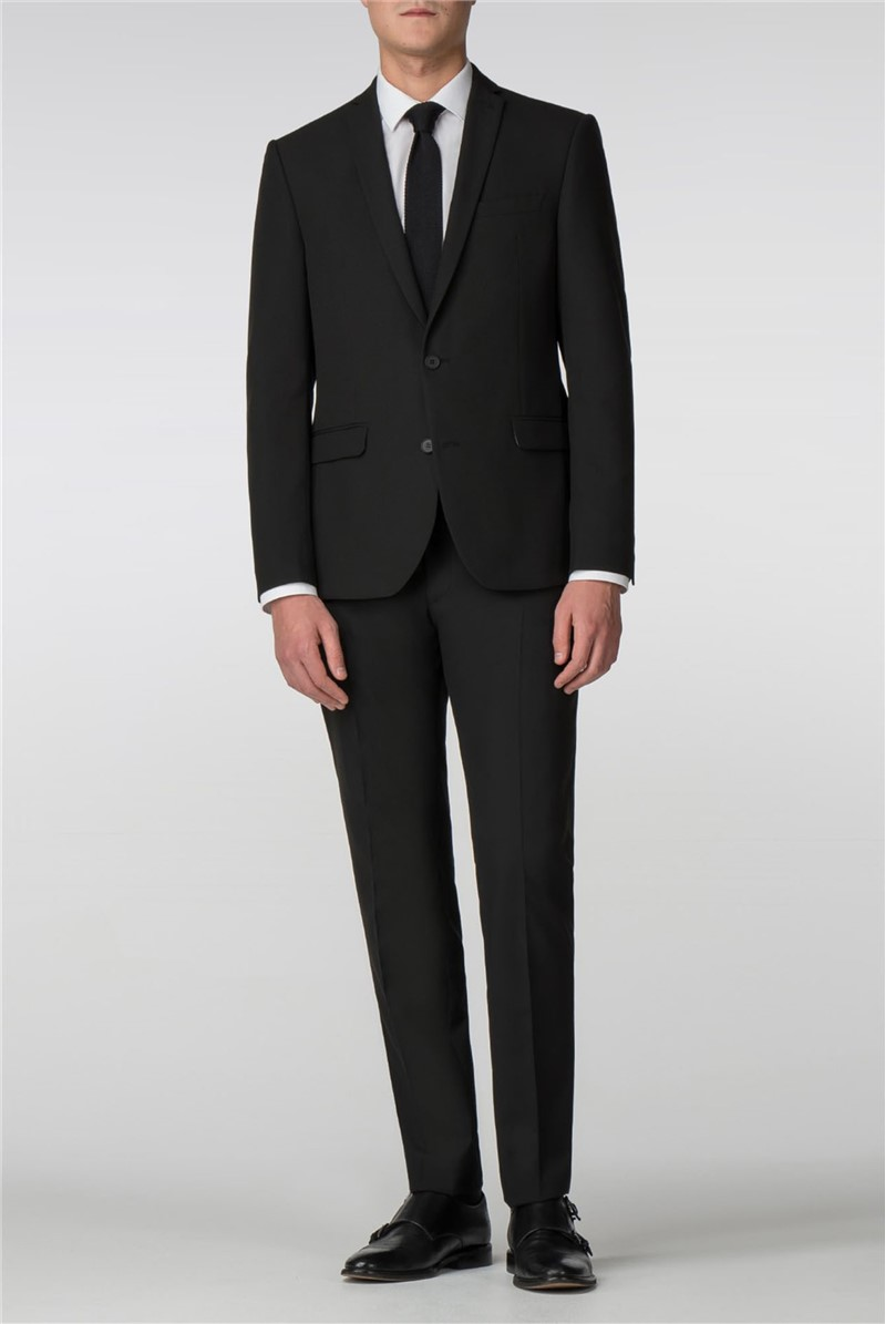 Black Panama Skinny Fit Suit